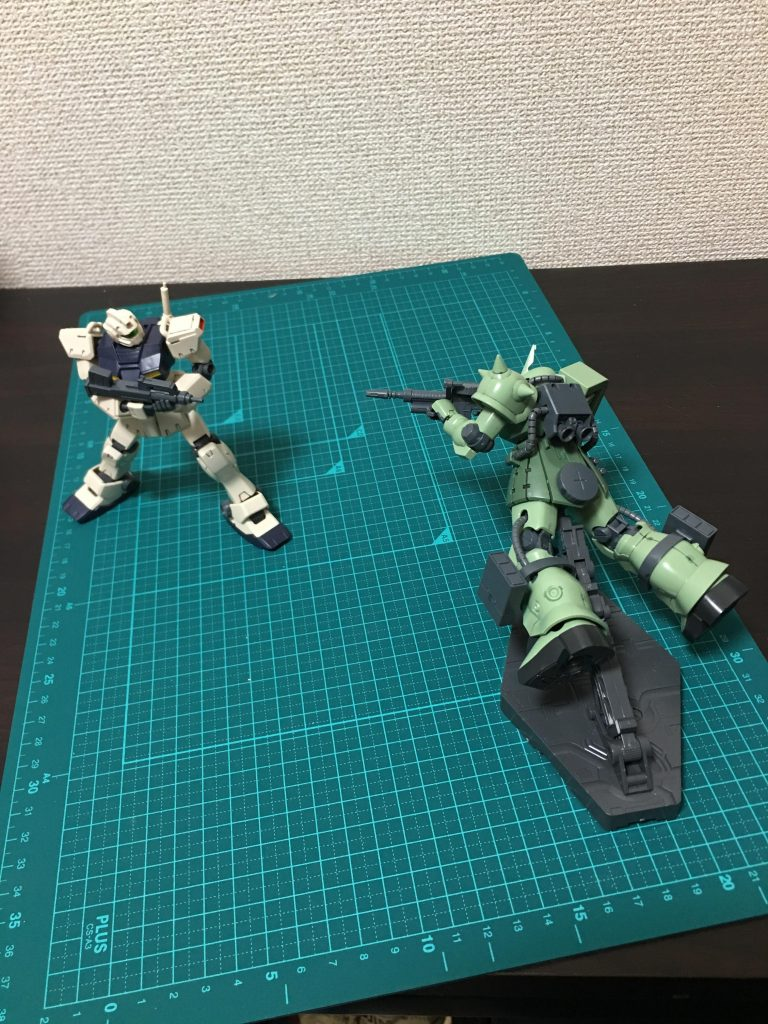 量産型同士による接近戦 アピールショット1