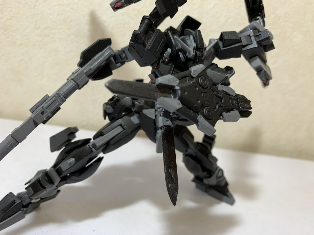 MS-typeG-07 ガンダムリベリオン アピールショット4