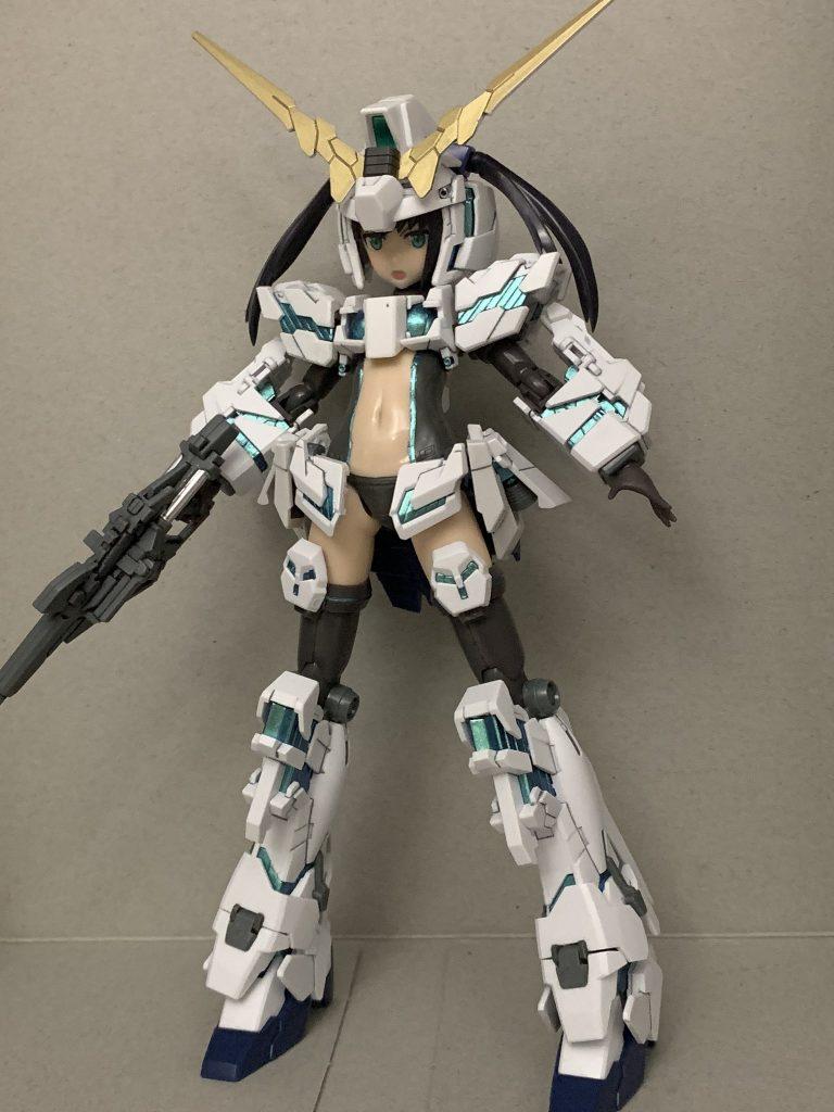 ユニコーンガール「ユニ子」FAドレス装備 アピールショット5