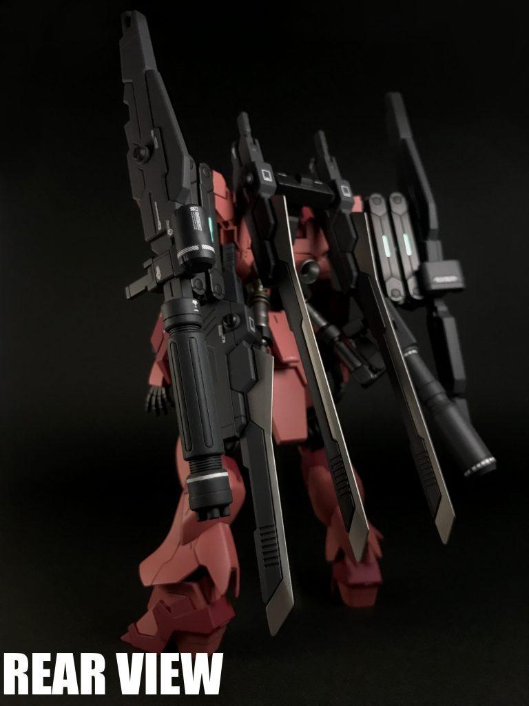RX-93-ν2VV Hi-νガンダムヴレイブ-紅 アピールショット3