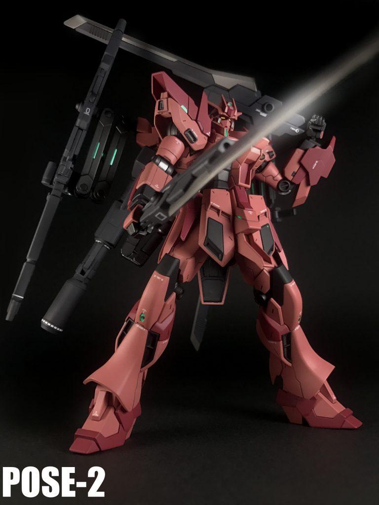 RX-93-ν2VV Hi-νガンダムヴレイブ-紅 アピールショット5