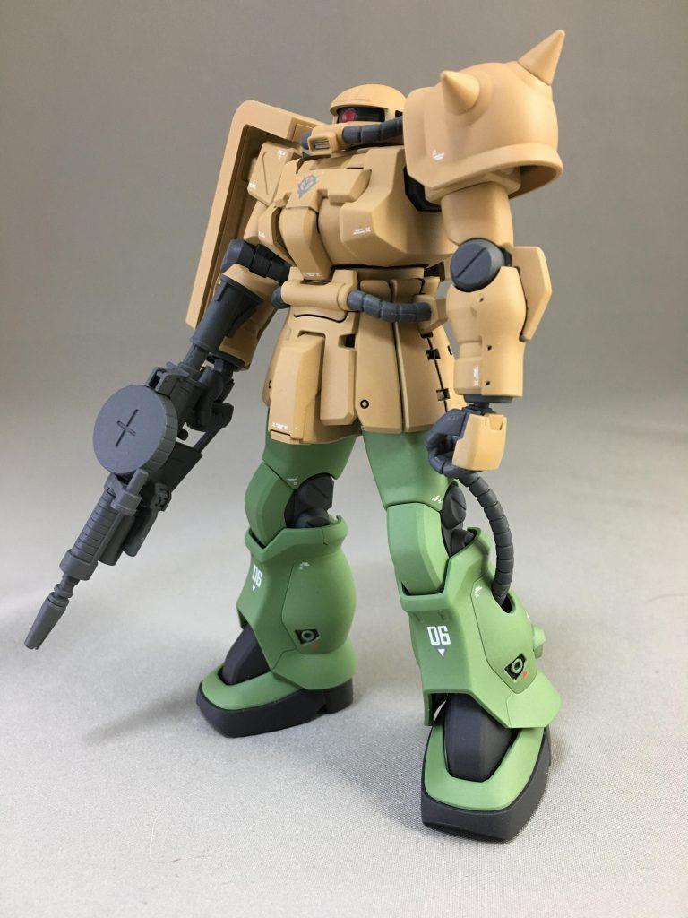 MS-06 F2 ザク  キンバライト仕様 アピールショット4