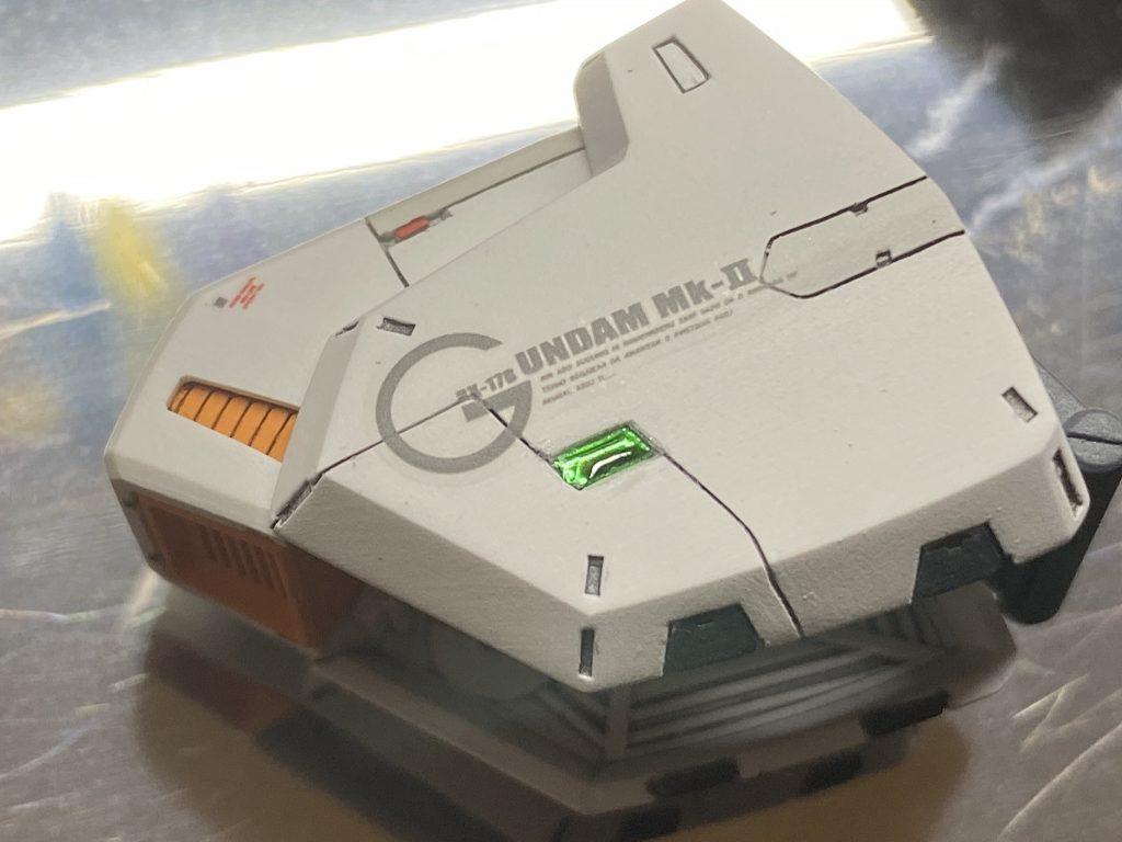 MGガンダムmk-II ver2.0 制作工程2