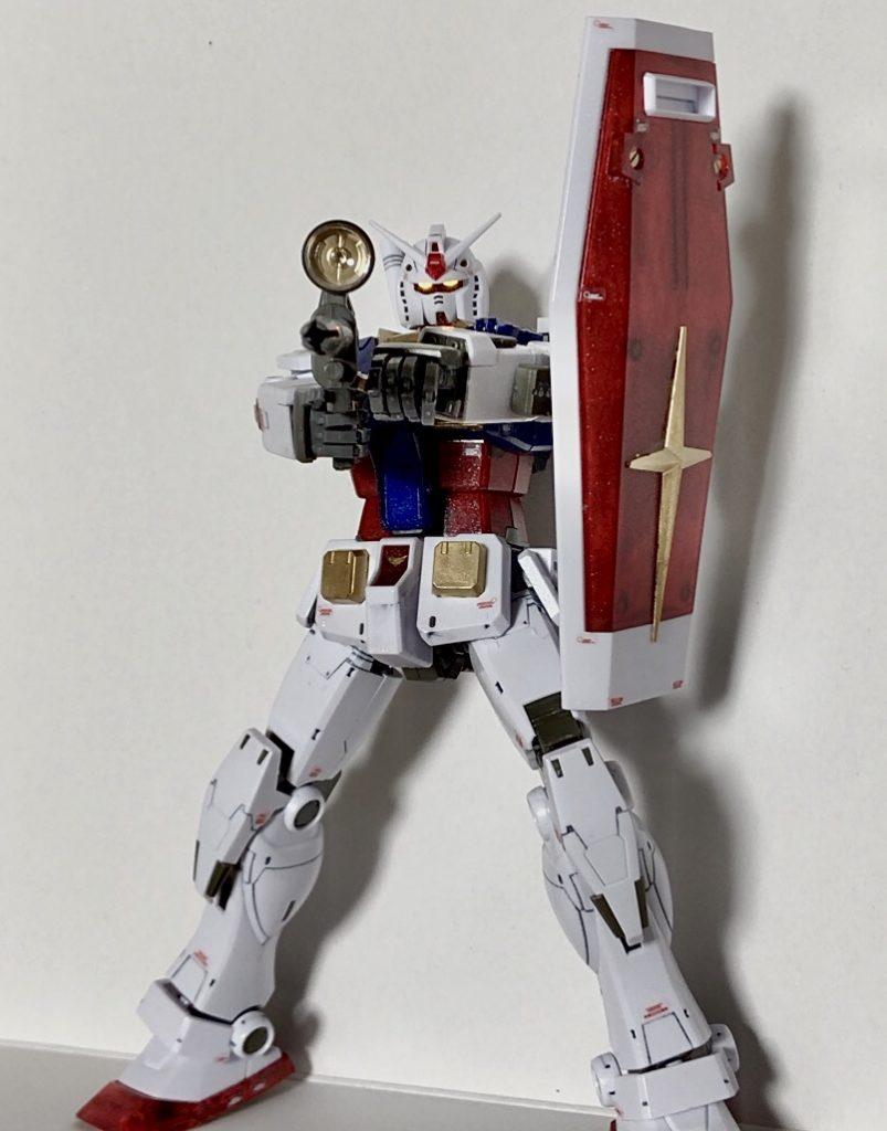 GUNDAM THE ORIGIN RX-78-02 ガンダム アピールショット3