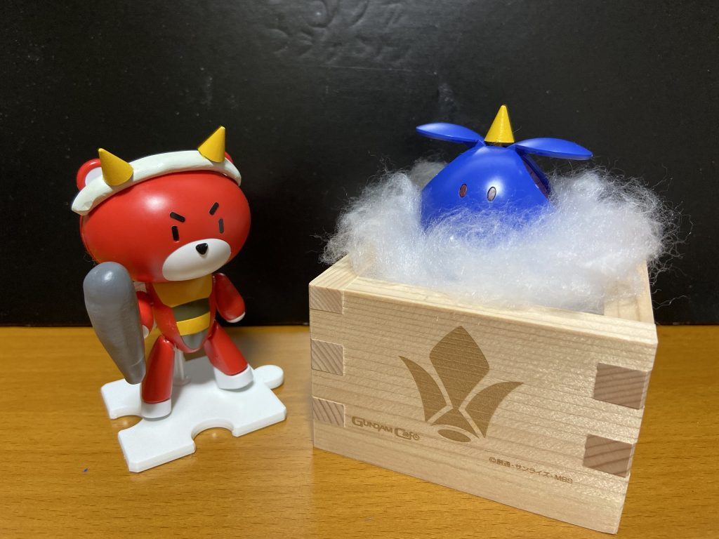 赤オニッガイと青オニハロ
