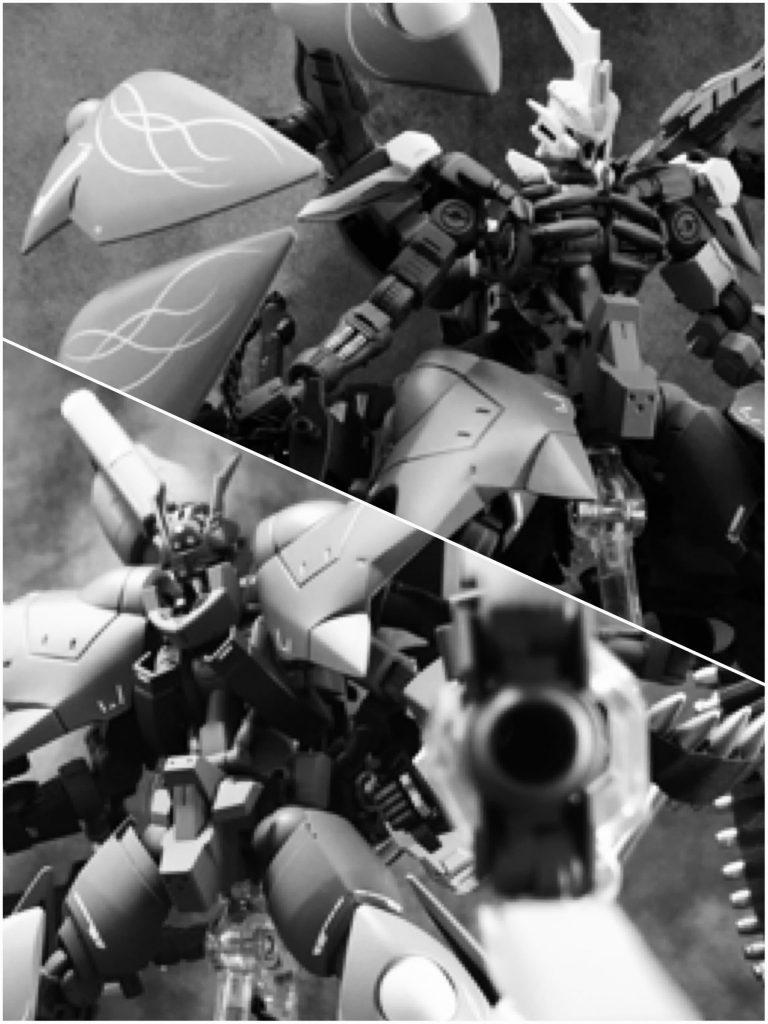 ガンダム斬魔&銃魔 制作工程8