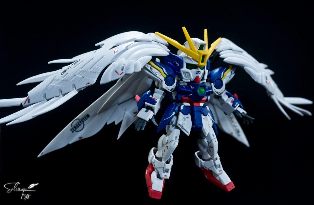 SDCS+RG Wing Gundam Zero EW アピールショット1