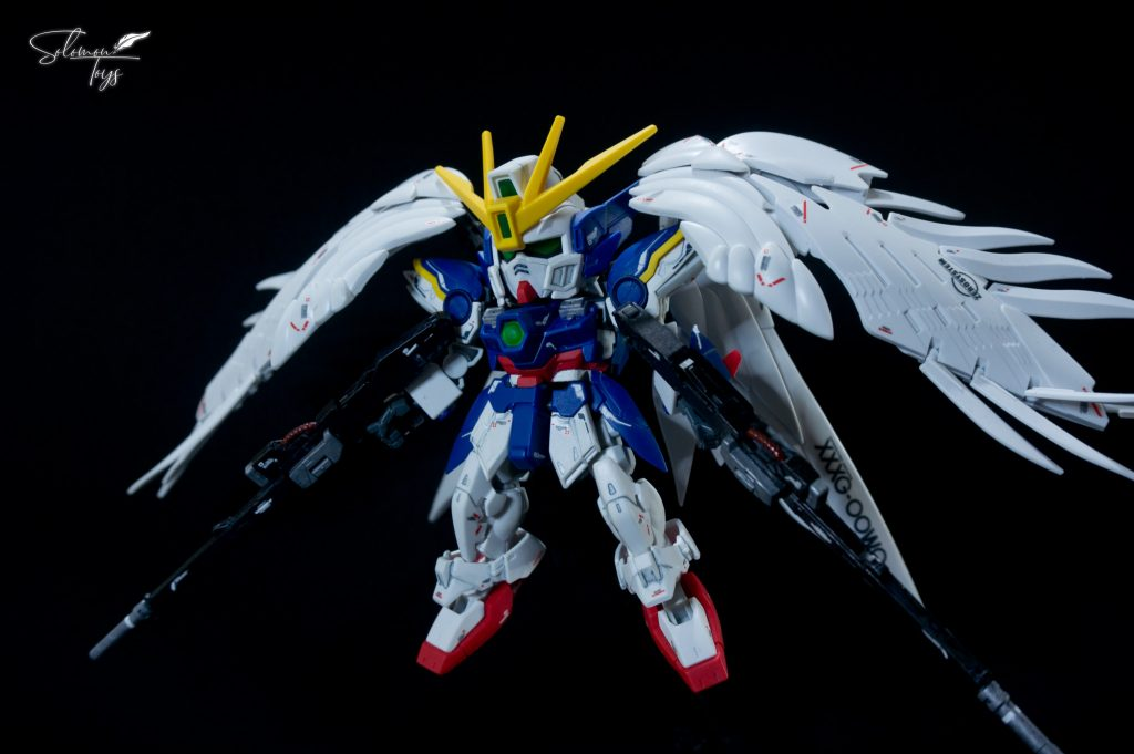 SDCS+RG Wing Gundam Zero EW アピールショット3