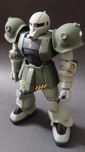 hgucザクⅠ(量産型カラー)