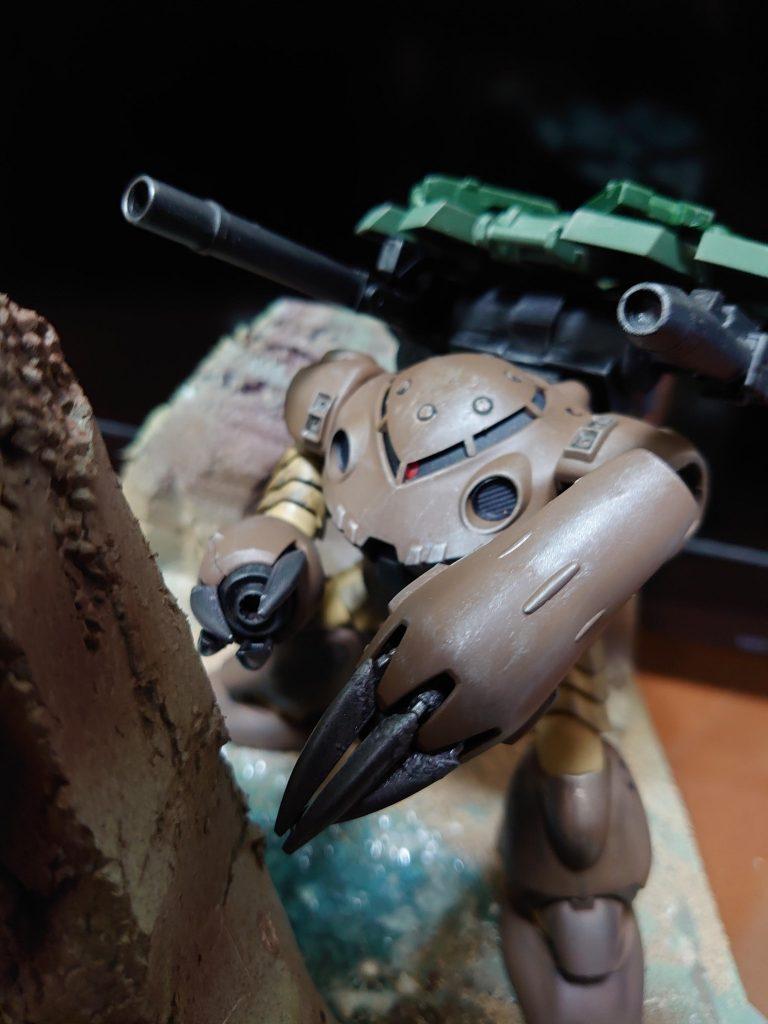 """ズゴックT(トータス):通称""""リクガメ""""陸上決戦仕様機 アピールショット3"""