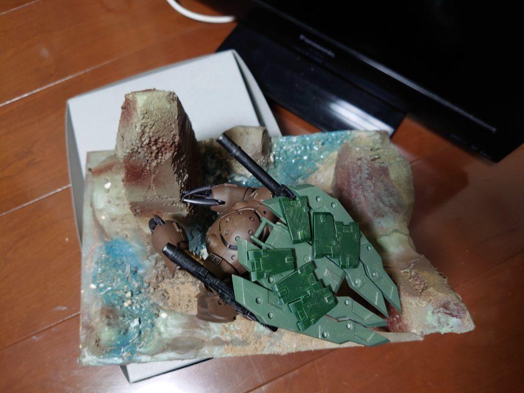 """ズゴックT(トータス):通称""""リクガメ""""陸上決戦仕様機 制作工程3"""