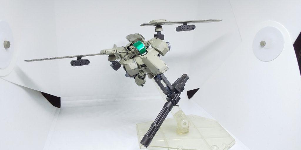 飛翔戦術展開用歩兵「風雷」