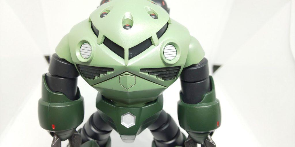 ズゴック 緑量産カラー その2 制作工程1