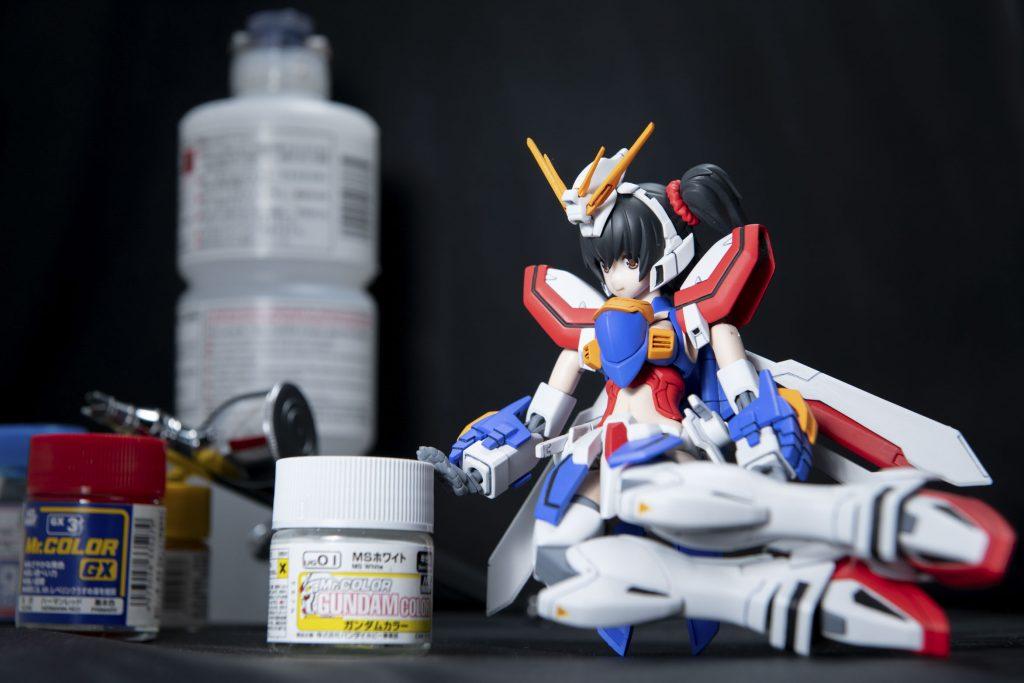 ゴッドガール(仮) 制作工程2