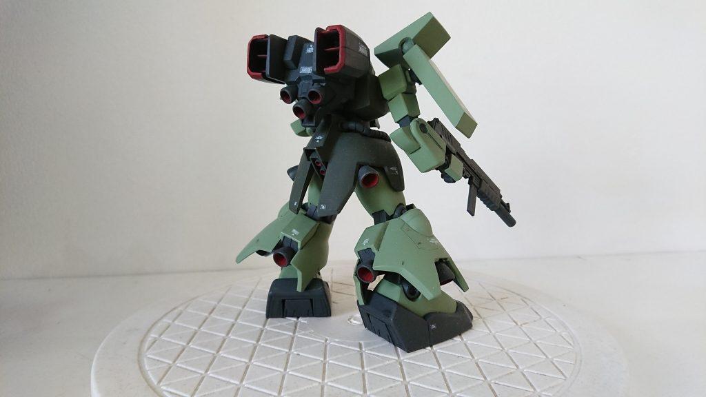 HGUC ザクⅢ 何となく…火星独立ジオン軍(ジオンマーズ )仕様 アピールショット3