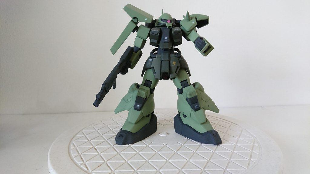 HGUC ザクⅢ 何となく…火星独立ジオン軍(ジオンマーズ )仕様 制作工程1