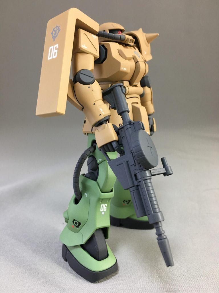 MS-06 F2 ザク  キンバライト仕様 アピールショット3