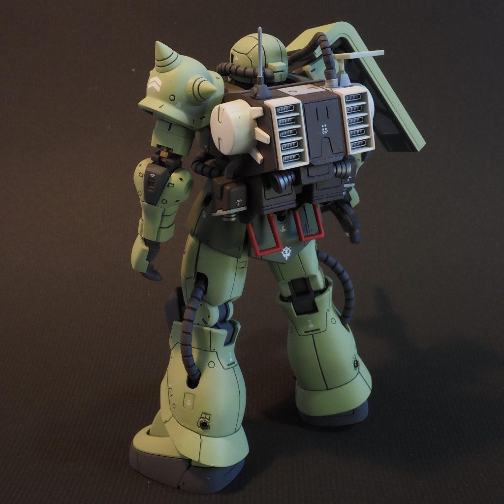HG ザクⅡ マインレイヤー アピールショット2