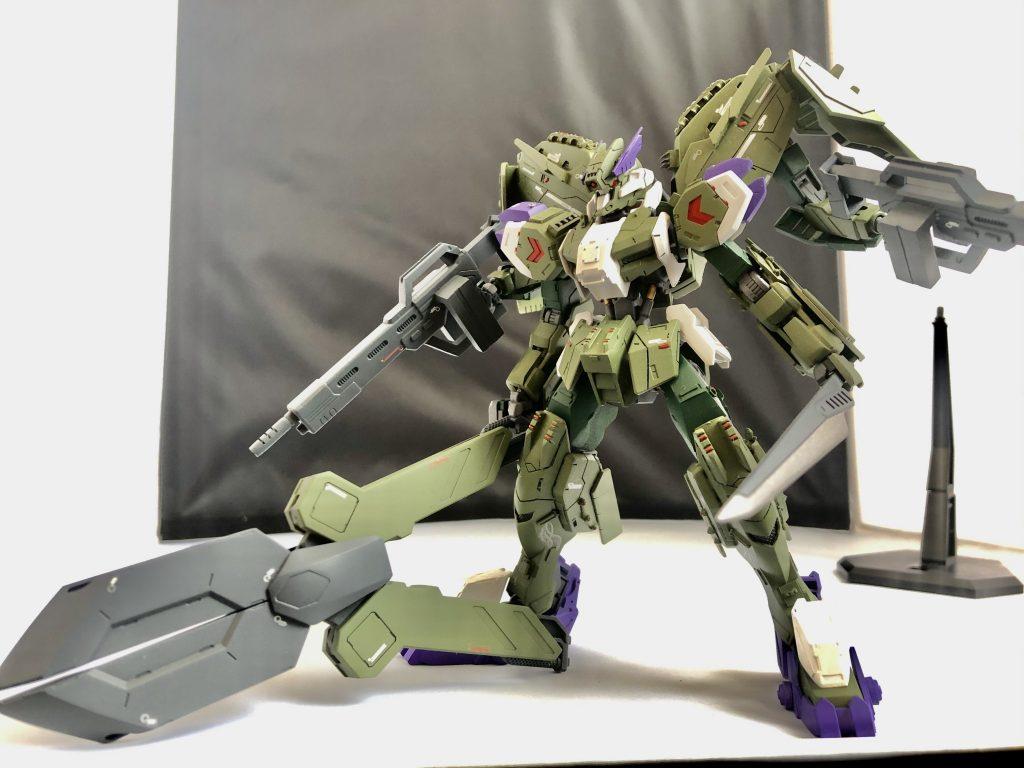 """Gundam・Gusion-Rebake""""Whezavy"""" アピールショット3"""