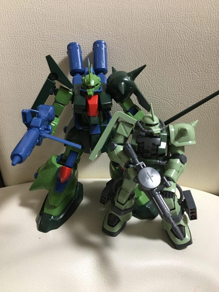 ザクⅢ改 ZAKU-Ⅲ CUSTOM アピールショット1