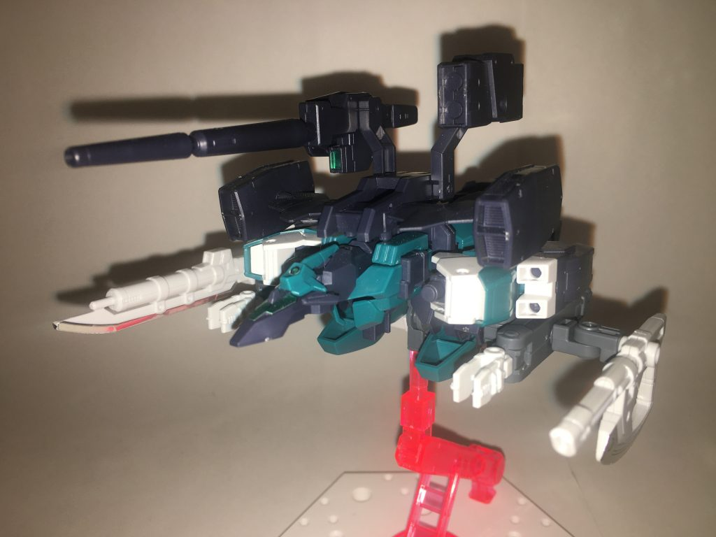 防護の戦士「ガンダムコアディフェンダー」 制作工程2