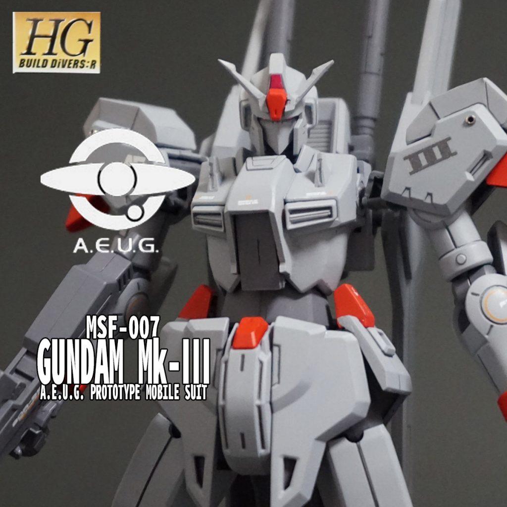 HGUC ガンダムMk-Ⅲ アピールショット1
