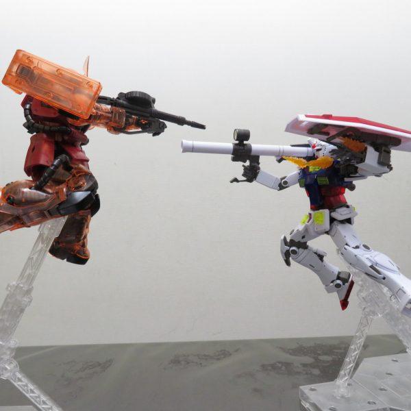 MG_RX-78-02 ガンダム(GUNDAM THE ORIGIN版)[ソリッドクリア/スタンダード]&[ソリッドクリア/リバース]