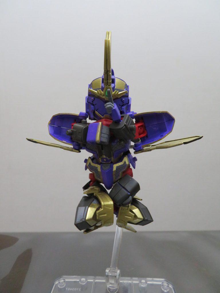 SD_ガンダムベース限定 RX-零丸(獅子吼) アピールショット1