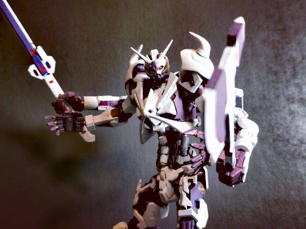 屍の王 HGIBOダンタリオン改造 制作工程1