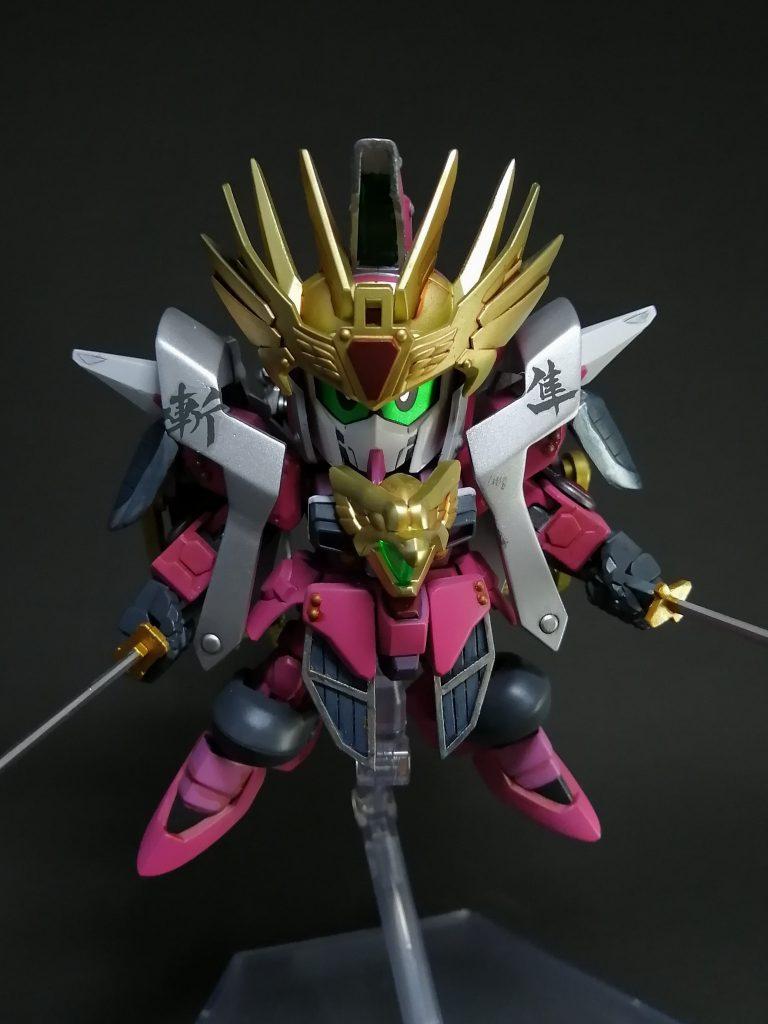 武者射須帝主(ムシャジャスティス) アピールショット1
