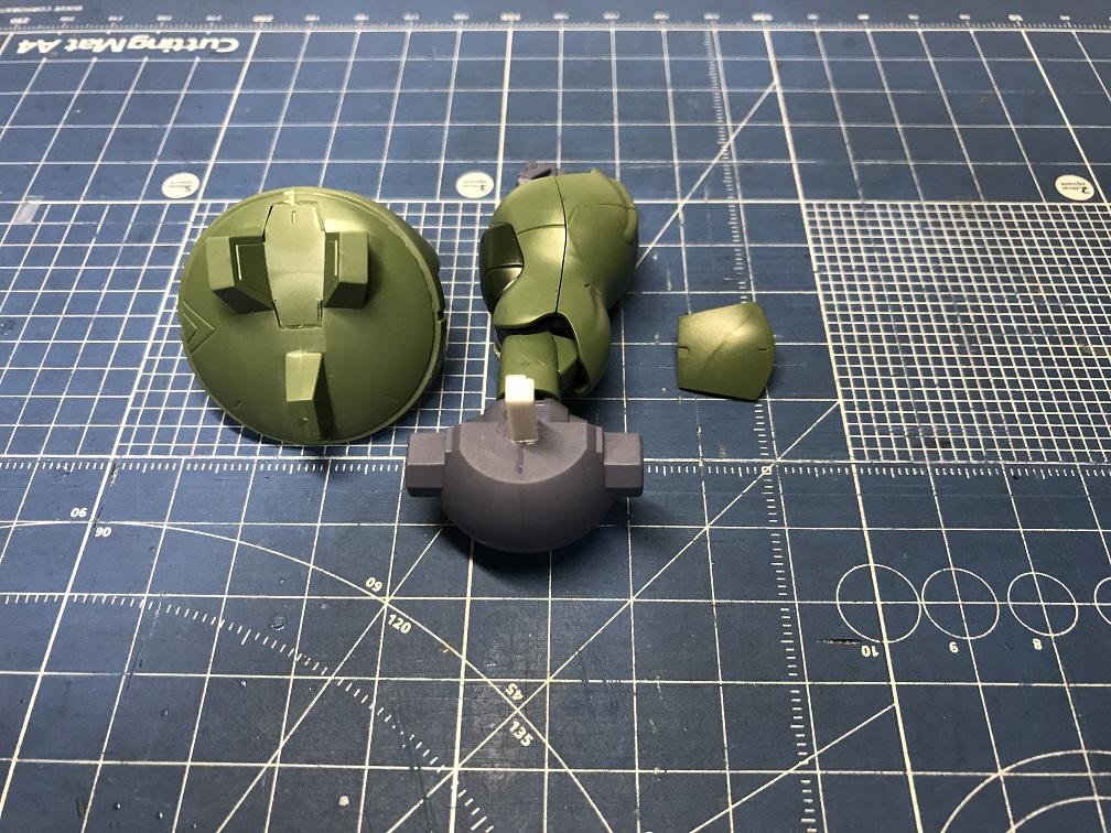 グシオンガンダム 制作工程3