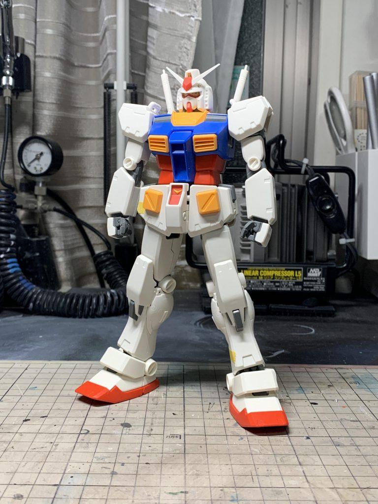 RX-78-2 ガンダム Ver.Ka (センチネル 0079) 制作工程1