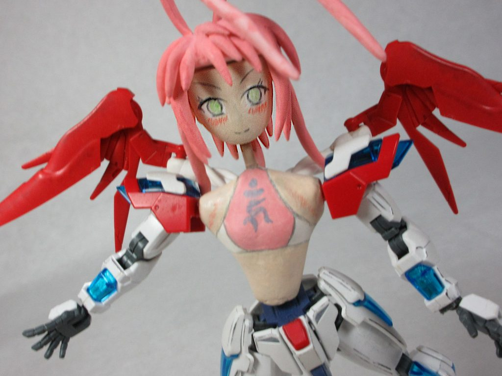 HGバーニングちゃん弐号機 アピールショット1