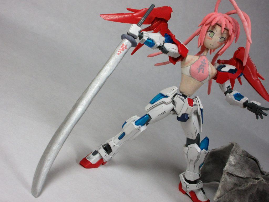 HGバーニングちゃん弐号機 アピールショット2
