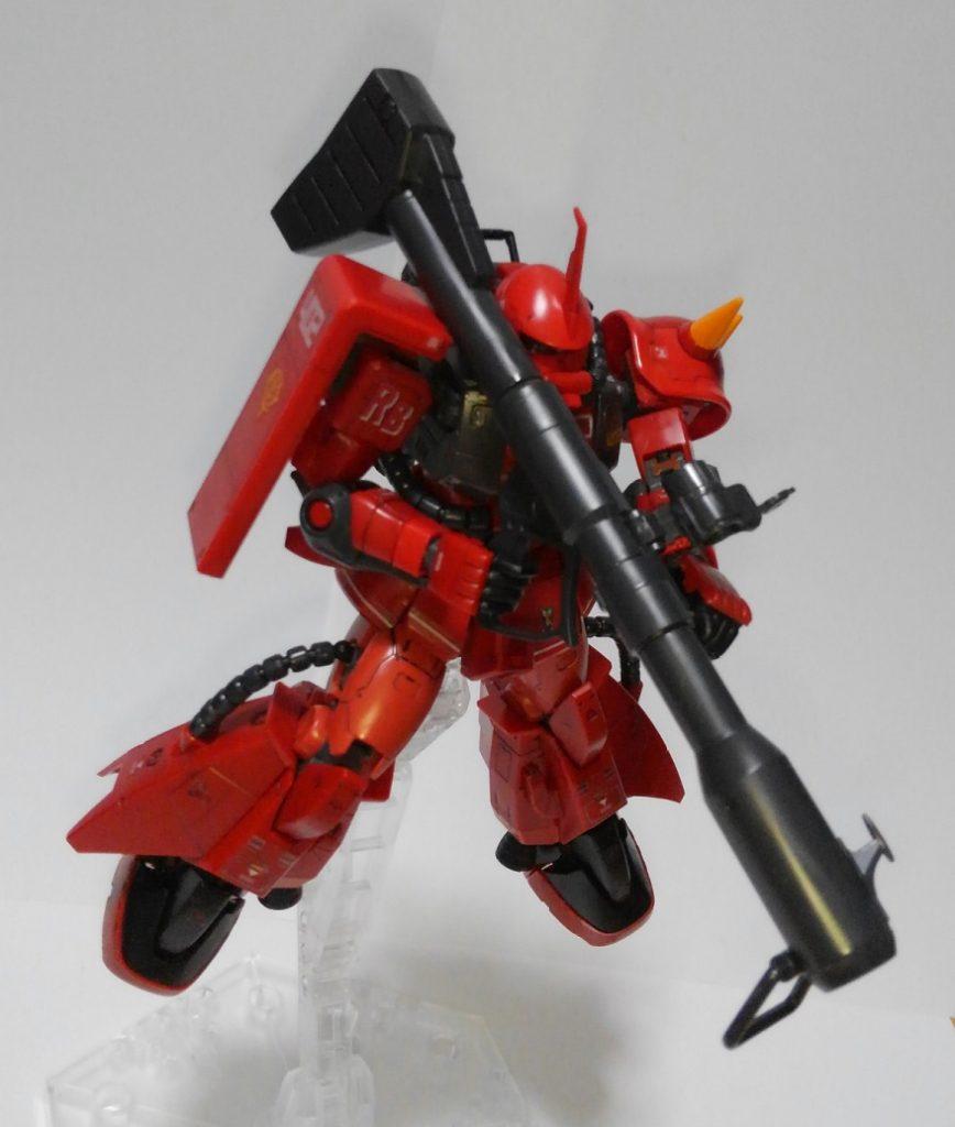 RG 1/144 MS-06R-2 ジョニー・ライデン専用ザクII アピールショット3