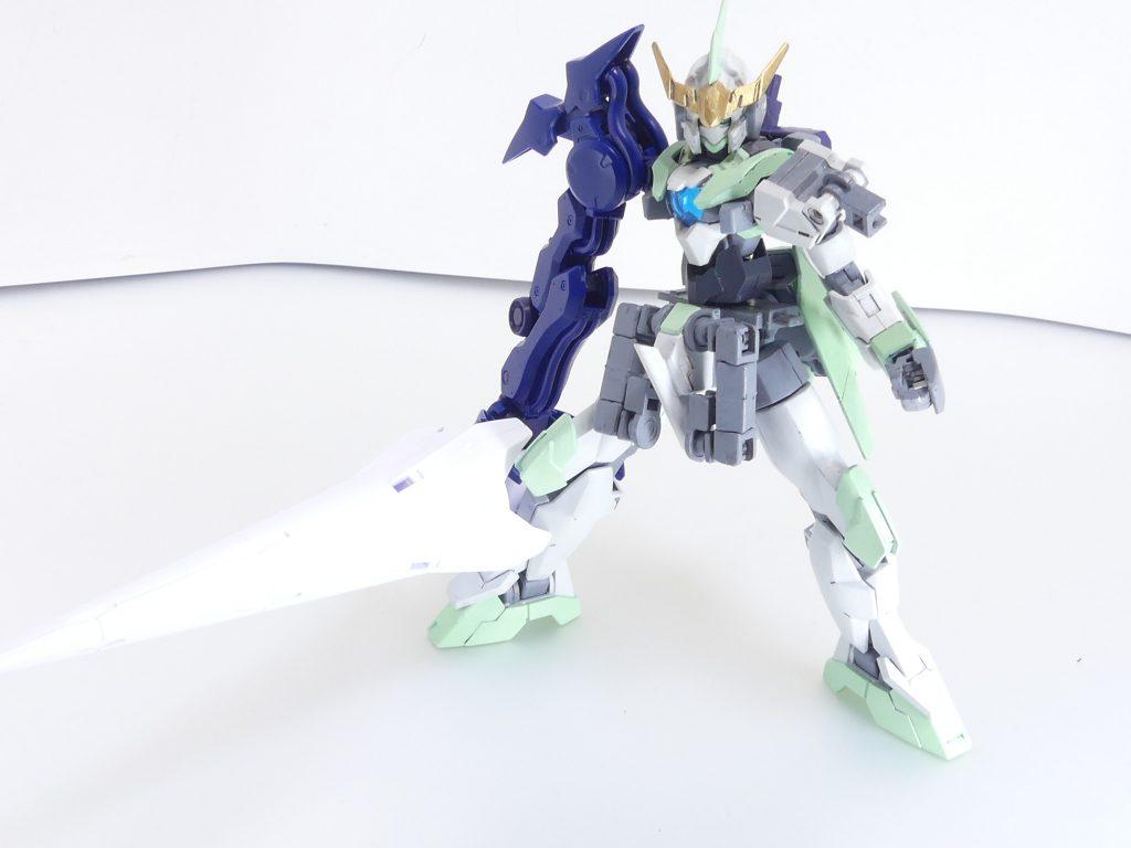 【GBNW:EX】27:HGBD:R ゼルトザームアームズ 制作工程3