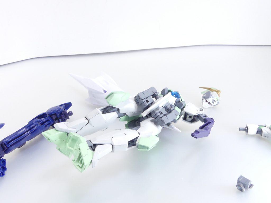 【GBNW:EX】27:HGBD:R ゼルトザームアームズ 制作工程7