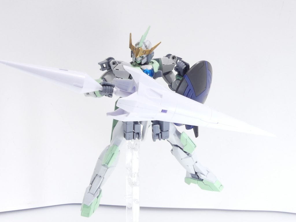 【GBNW:EX】27:HGBD:R ゼルトザームアームズ 制作工程4