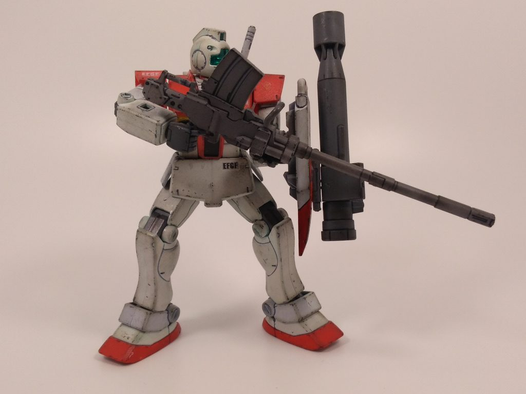 ジム(陸戦装備仕様) アピールショット1