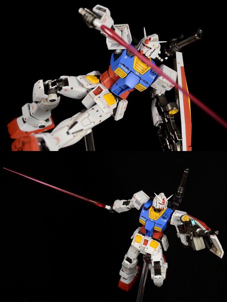 HG RX-78-02ガンダム(GUNDAM THE ORIGIN版) アピールショット7