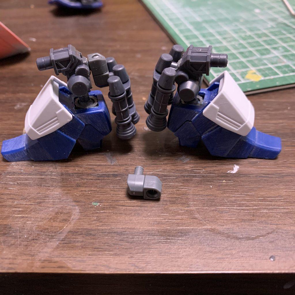 ギャン 宙間機動試験機 (リック・ギャン) 制作工程2
