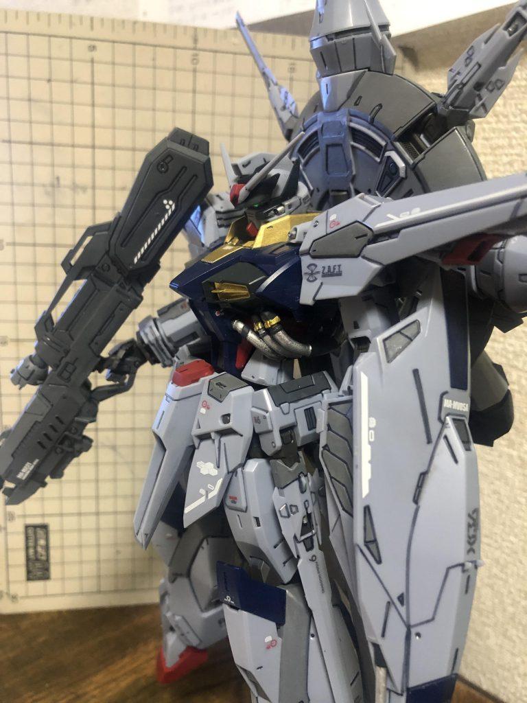 ZGMF-X13A  プロヴィデンス アピールショット3