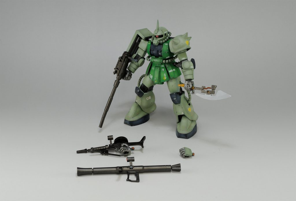 【HGUC】ザクFS型 アピールショット2