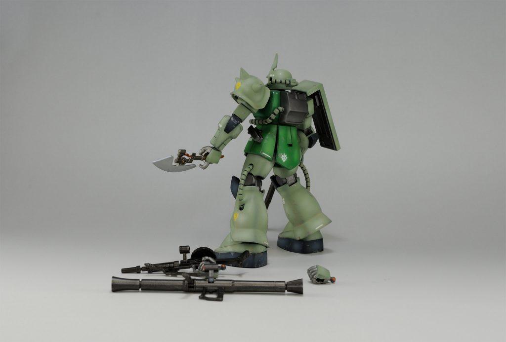 【HGUC】ザクFS型 アピールショット3