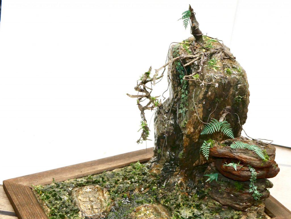 【ジオラマ】密林 HGUC 陸戦型ジム アピールショット3