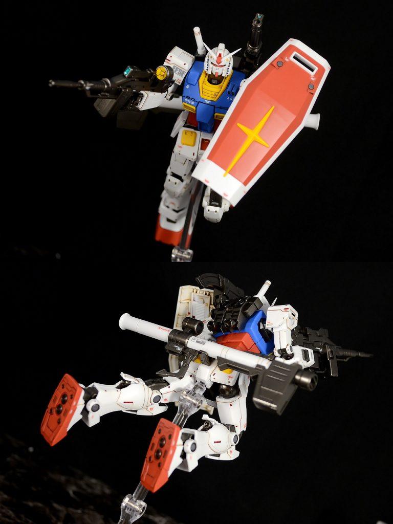 HG RX-78-02ガンダム(GUNDAM THE ORIGIN版) アピールショット4