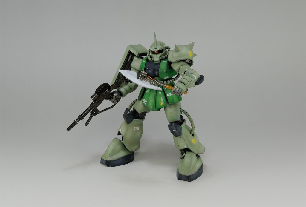 【HGUC】ザクFS型 アピールショット1