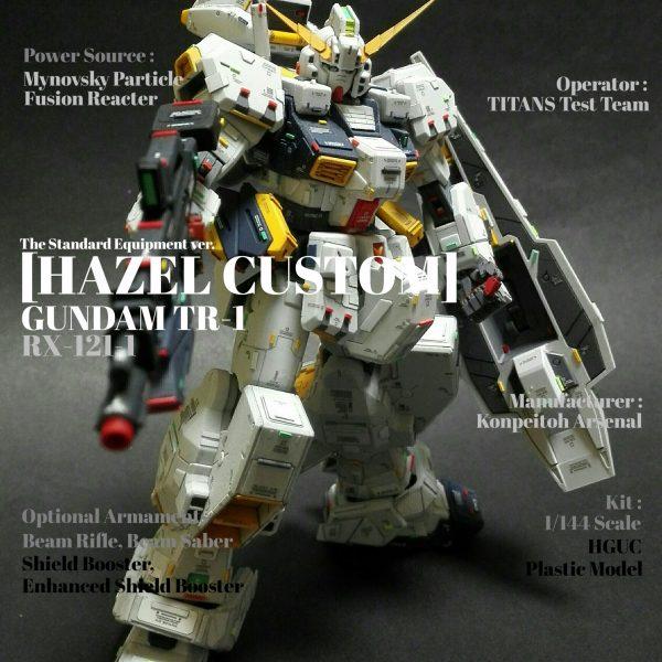 HGUC ガンダムTR-1 [ヘイズル改]