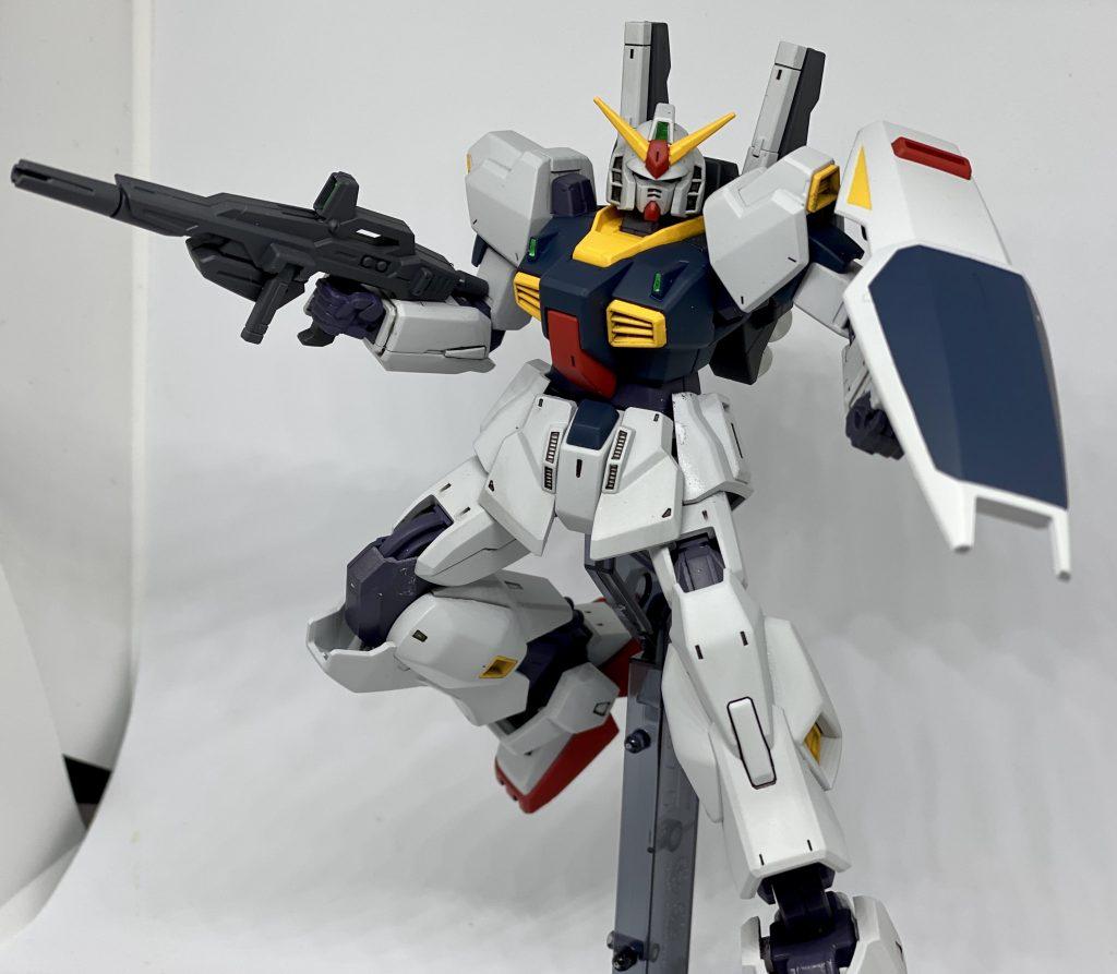 HGUCガンダムMk-Ⅱ 全塗装