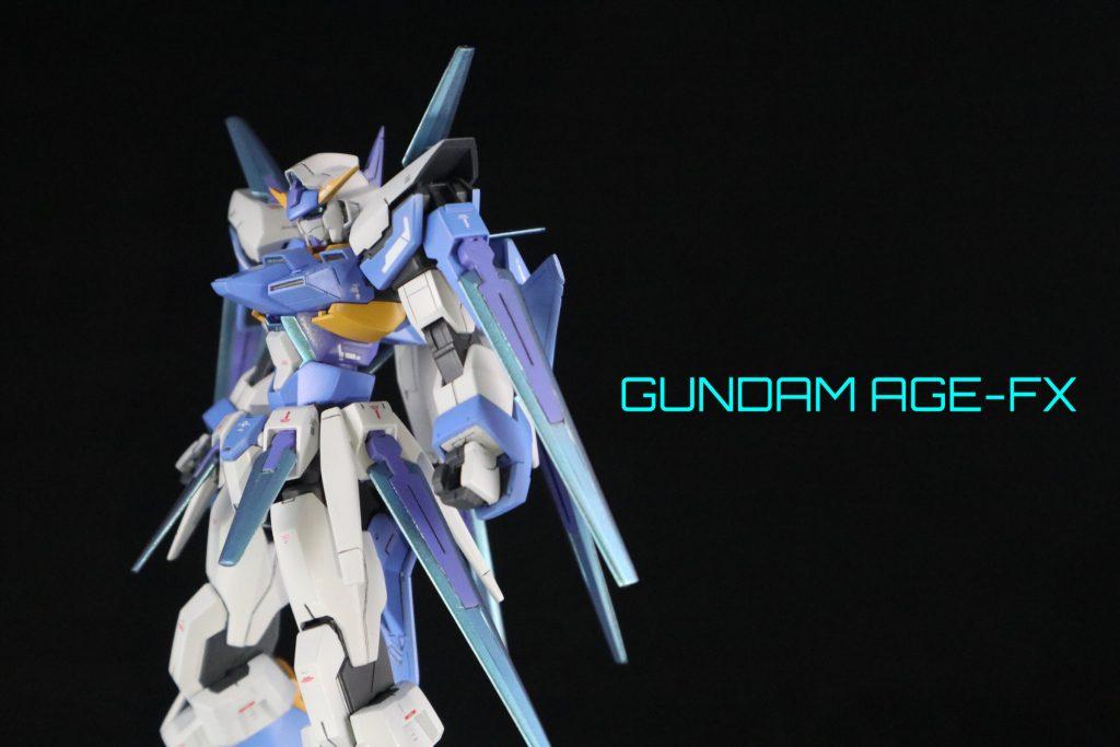 HG ガンダムAGE-FX アピールショット6